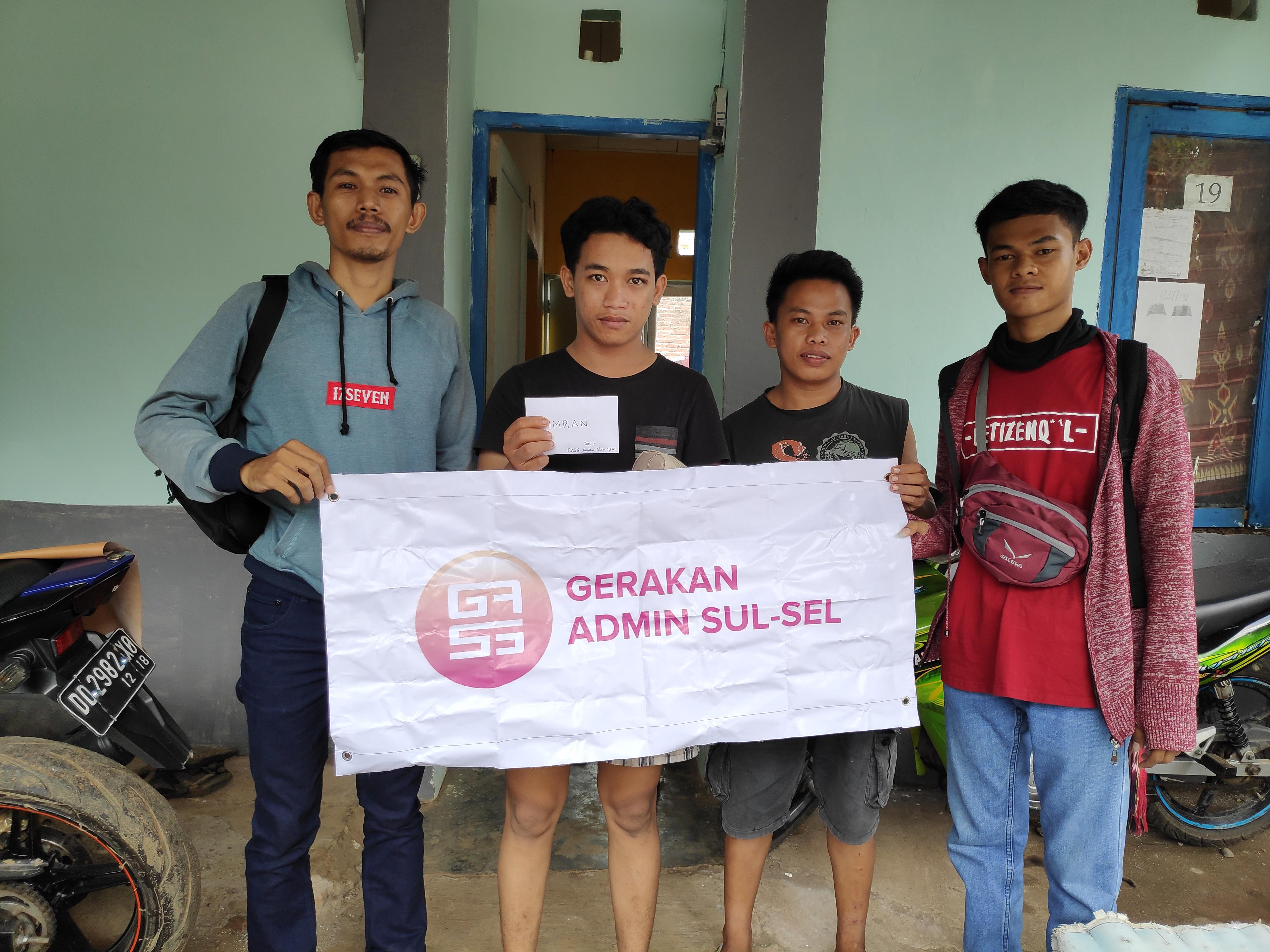 GASS Peduli Imran Korban Begal Sadis Potong Tangan Herald Makassar 2019 05 01 19 12 04 GASS