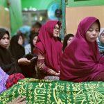 "Cicu"" Melayat Ke Rumah Aliyah Ibnu Hajar, istri dari Ustaz Maulana"