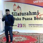 Bukber Alumni SMP Kacak dan Smansa 86, Taufik Fachruddin Didorong Maju Pilwali Makassar