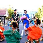 Selamat Datang Komandan Laksma TNI Hanarko Djodi Pamungkas Di Kesatrian Lantamal VI